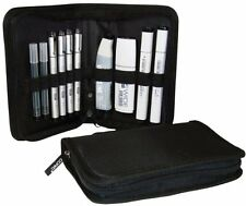 Refillable Ink Pen Markers Nibs Brush System Lettering Draw Supplies Wallet Set