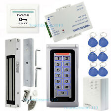 Waterproof Electronic Door Access Systems Magnetic Lock 110-240V Power Supply