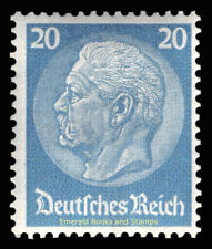 EBS Germany 1933 President Hindenburg Medallion (III) 20 Pf. Michel 521 MNH**