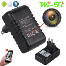 Spy IP Camera 1080 HD Wall Charger Video WiFi Remote Hidden Nanny Covert Cam