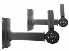 2 x Lautsprecher Boxen Halter PA Wand Halterung Befestigung 35mm Stativ Flansch