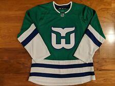 NHL Hartford Whalers / Carolina Hurricanes Throwback Adidas Jersey - 54