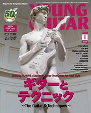 Young Guitar Japanese Magazine January 2019 Rock Music Guitar & Techniques w/Tr#