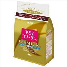 Meiji Amino Collagen Powder Premium Refill 214g 30days  from Japan New