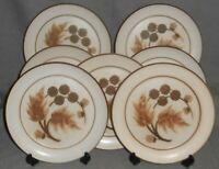 Set (7) Denby COTSWOLD PATTERN Dinner Plates ENGLAND