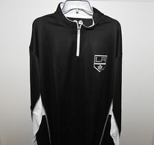 NHL Majestic Los Angeles Kings 1/4 Zip Hockey Jacket New Big & Tall Mens 3XL