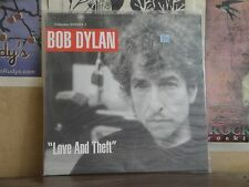BOB DYLAN, LOVE AND THEFT - UK DOUBLE LP 504364 1
