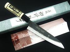 Tojiro Black Finish SIROGAMI White Steel Utility Petty Knife 150mm Japan F-692