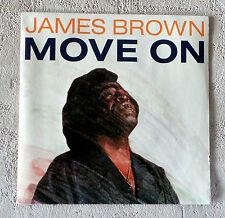 "DISQUE VINYL 45 T SP MUSIQUE INT/JAMES BROWN""MOVE ON""SCOTTIBROS 8686807 PROMO"