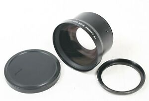 TV Camera Wide Conversion Lens X0.7 Made In Japan