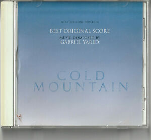 GABRIEL YARED - Cold mountain (for your consideration) - CD