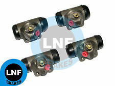 RENAULT DAUPHINE R1090 R1091 ONDINE R1090A WHEEL CYLINDER SET X4 FRONT + REAR