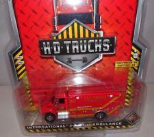 Ambulanze di modellismo statico rossi edizione limitata