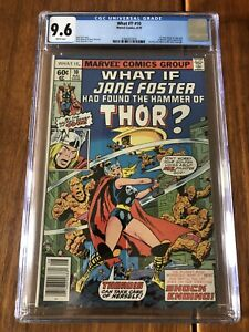 What If 10 Thor/Jane Foster CGC 9.6 MCU Tie In