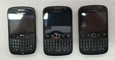 3 BlackBerry mobile phones all in working order - Free post