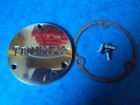 GENUINE TRIUMPH PRIMARY CHAINCASE ROTOR COVER 57-2440 T100 T120 T140 BONNEVILLE
