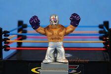 Mattel WWE Wrestling Rumblers Figure Elite Ray Mysterio Silver Cake Topper K930