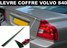 VOLVO S40 2004-08 LAME LEVRE COFFRE MALLE SPOILER BECQUET AILERON SPORT R-DESIGN
