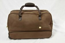 Diane Von Forstenberg CARRY-ON ROLLING Wheeled travel LUGGAGE bag