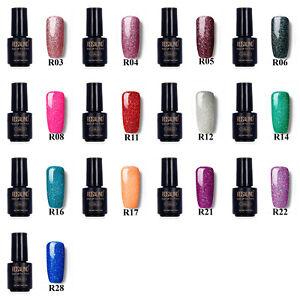 Neon Glitter Nail Gel Polish,Nail Art Design Decoration,Colour Choice,UK Seller