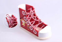 Wooden Shoe Laces Educational Childrens Wooden Threading Learning  Lacing Tie
