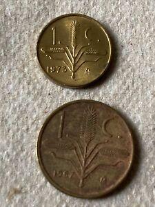 1967 & 1973 mexico un centavo