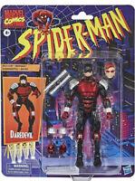 "Hasbro Spider-Man Marvel Legends Retro Collection Daredevil 6"" Action Figure NEW"
