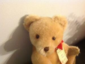 "Vtg Hermann Teddy Original ""No-No"" Bear Mohair 12""Jointed Made in West Germany"