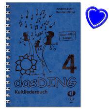 Das Ding 4 Kultliederbuch - 400 Songs - Verlag Edition Dux - D99 - 9783868492460