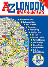 A-Z London Map and Walks by Geographer's A to Z Company (Sheet map, folded,...