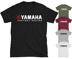Yamaha Motor  Motorcycle Motorbike Bike  Racing T-shirt Top Tee