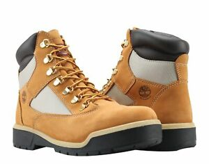 Timberland 6-Inch Waterproof Field Boot Wheat Mac N Cheese Men's Boots A18QV