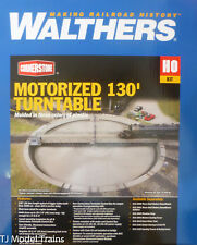 """Walthers HO #933-2859 Motorized 130' Turntable -- Assembled - 19-1/8"""" 47.8cm Dia"""