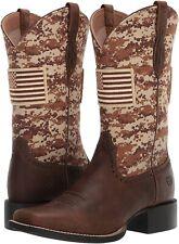 Ariat 245818 Womens Patriot Western Boot Distressed Brown Size 6.5 B Medium
