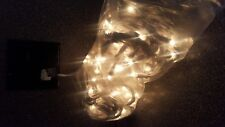 144 Clear Bulbs White Wire Dripping Icicle Lights NIB String Christmas