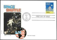 US Space FDC Cover 1981. Shuttle Columbia STS-1. Philswiss ##06