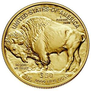 USA - 50 Dollar 2021 - American Gold Buffalo - Anlagemünze - 1 Oz Gold ST