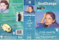 SEACHANGE IF FISH COULD FLY VHS VIDEO PAL RARE  AUSTRALIAN MOVIE