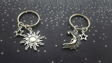 2 pcs Sun And Moon Keyrings, Friendship Set, Celestial Keychains, Best Friends