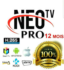 NEO TV PRO 2 ( SMARTV, ANDROID, MAG, IOS, CODE,M3U..) lP'TV 1080p - Sony, LG...