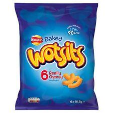 Walkers Wotsits Cheese Snacks 6x16.5g - Sold Worldwide From UK