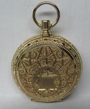 ANTQUE WALTHAM 14K SOLID GOLD ORNATE HUNTER CASE POCKET WATCH TO FIX