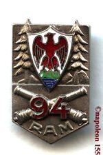 ARTILLERIE. 94 eme Rgt d'Artillerie de Montagne, RAM. Fab. Drago Beranger