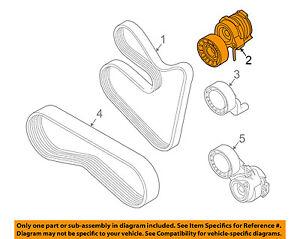 BMW OEM 03-08 760Li-Belt Tensioner 11287549588