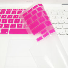 "FULL PINK Silicone Keyboard Skin Cover  for Old Macbook White 13"" (A1181)"