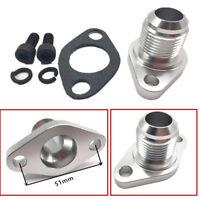 CNC Machined Billet Aluminum AN12 Oil Drain Flange For Turbos T3 T4 T04E T04B