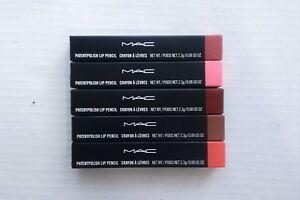 MAC Patentpolish Lip Pencil - New in Box (Choose Shade)
