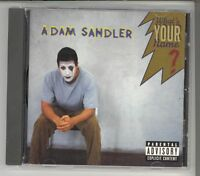 What's Your Name [PA] by Adam Sandler (CD, Sep-1997, Warner Bros.)