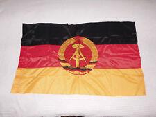 Original DDR Fahne 60 x 100 cm Staatsflagge Fensterfahne VEB Bandtex #737