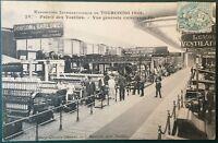 CPA, Postcard, Histoire textile, Tourcoing, Filature, Manchester, carte postale